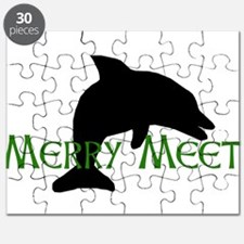 Merry Meet Spirit Dolphin Puzzle