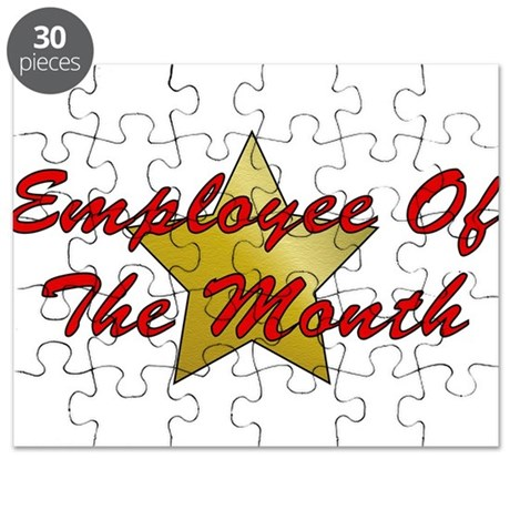 Employee Of The Month Puzzle