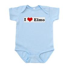 I Love Elmo Infant Creeper