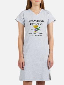 Recovering Catholic Women's Nightshirt