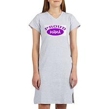 Proud Mama (purple) Women's Nightshirt