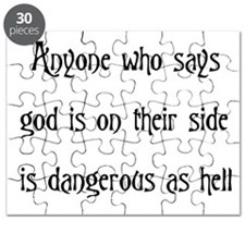 God On Their Side Puzzle