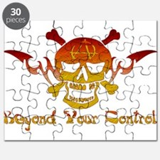 Anarchist Skull Puzzle