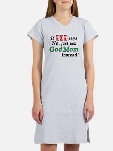 Just Ask GodMom! Women's Nightshirt