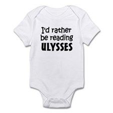 Reading Ulysses Infant Bodysuit