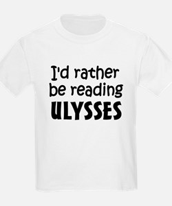 Reading Ulysses T-Shirt