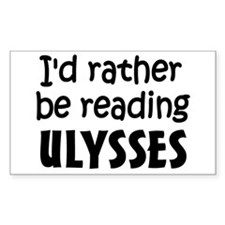 Reading Ulysses Decal