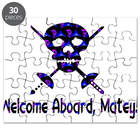 Welcome Aboard Matey Puzzle