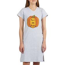 Pepaw's Little Pumpkin Women's Nightshirt