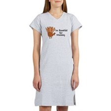 Thankful for Mommy Women's Nightshirt