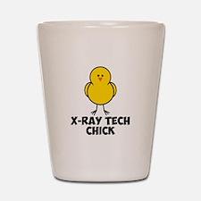 X-Ray Tech Chick Shot Glass