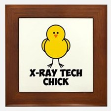 X-Ray Tech Chick Framed Tile