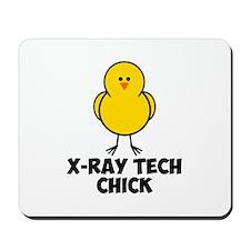 X-Ray Tech Chick Mousepad