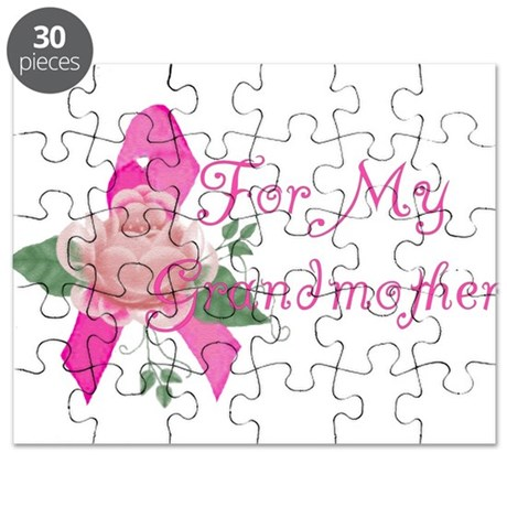 Breast Cancer Support Grandma Puzzle