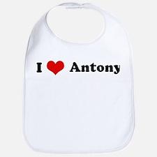 I Love Antony Bib