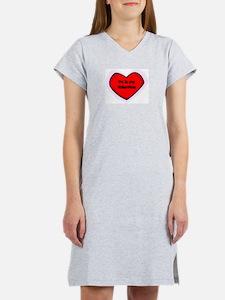 Pa is My Valentine Women's Nightshirt