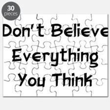 Don't Believe Everything Puzzle