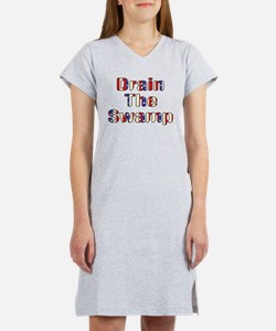 Drain The Swamp Women's Nightshirt