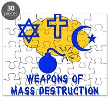 Religion Mass Destruction Puzzle