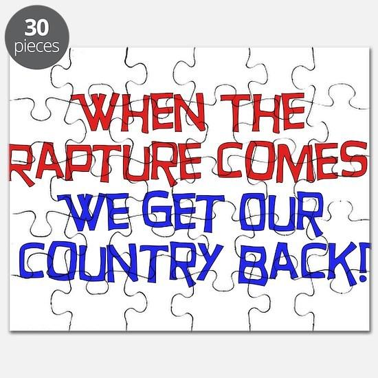 Rapture Wingnuts Puzzle
