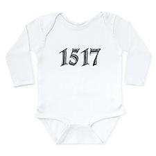 1517 Long Sleeve Infant Bodysuit