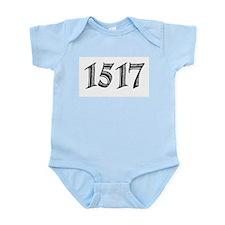 1517 Infant Bodysuit