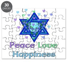 Peace Love Happiness Puzzle