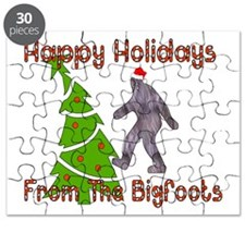 Bigfoot Christmas Puzzle