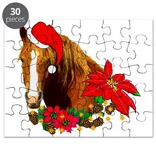 Christmas Horse Puzzle