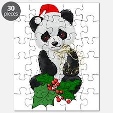 Christmas Panda Puzzle
