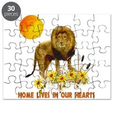 Home For Kwanzaa Puzzle