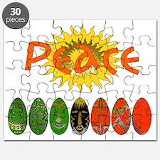 Kwanzaa Peace Shirts Puzzle