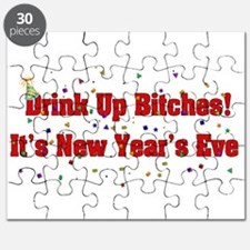 Drink Up Bitches New Year Puzzle