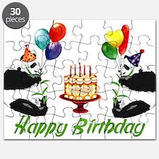 Birthday Pandas Puzzle