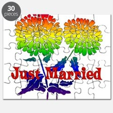 Rainbow Flower Marriage Puzzle