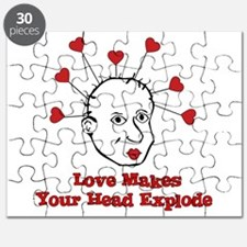Exploding Love Head Puzzle