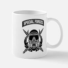 Combat Diver w Tab B-W Mug