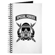 Combat Diver w Tab B-W Journal
