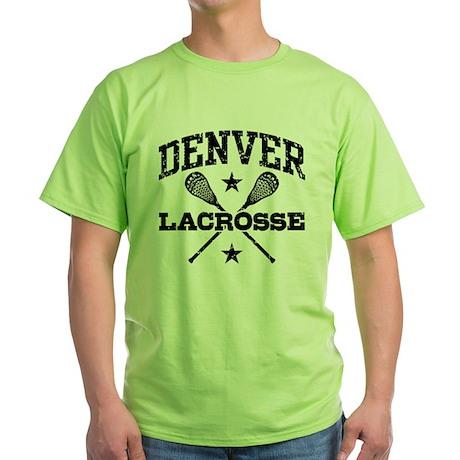 Denver Lacrosse Green T-Shirt