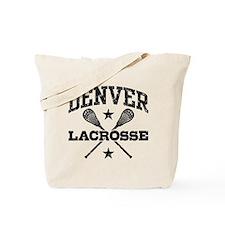 Denver Lacrosse Tote Bag