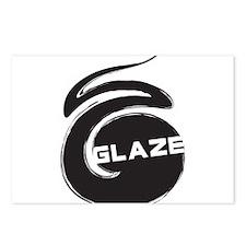 Glaze Swirl Postcards (Package of 8)