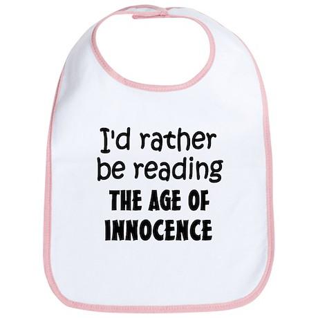 Age of Innocence Bib
