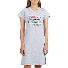 Just Ask Grammie! Women's Nightshirt