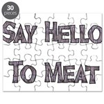 Say Hello To Meat Puzzle