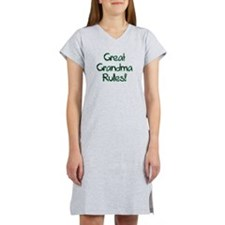 Great Grandma Rules! Women's Nightshirt