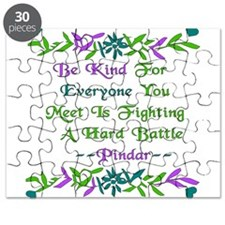 Be Kind Pindar Quote Puzzle
