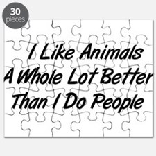 Animals Better Than People Puzzle
