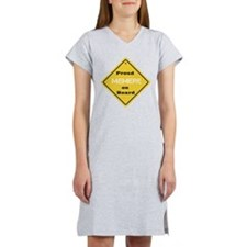 Proud Memere on Board Women's Nightshirt