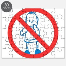 No Kids Allowed Puzzle