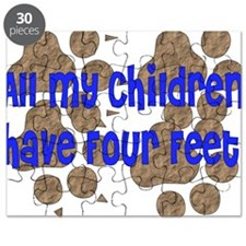 Four-Footed Children Puzzle